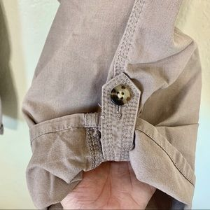 Talbots Pants - GAP Jeans -Army tan capri pants